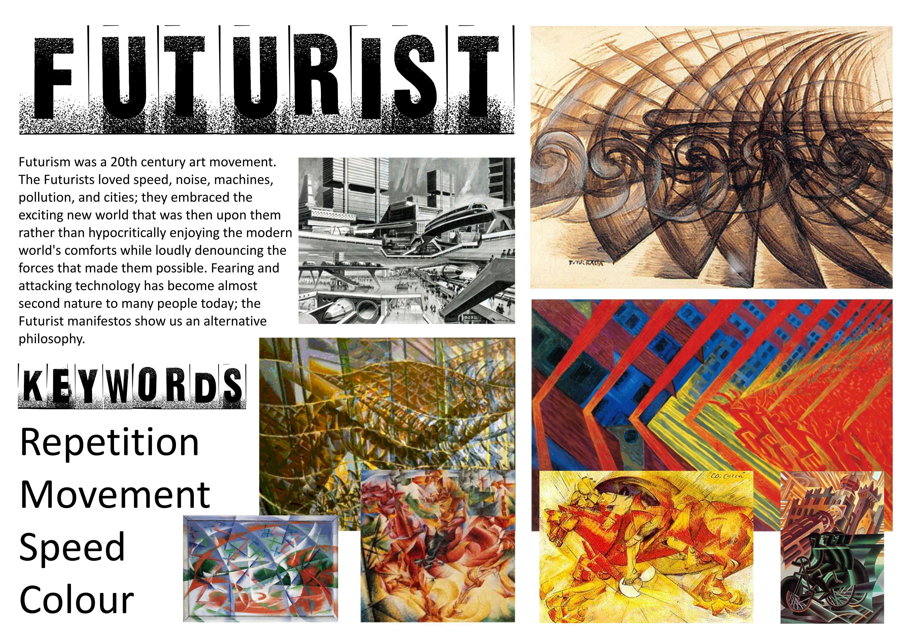 Futurist Research Sheets