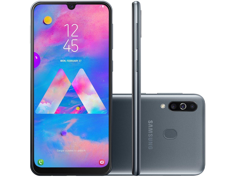 Smartphone Samsung Galaxy M30 64GB 4G 4GB RAM Tela 6,4