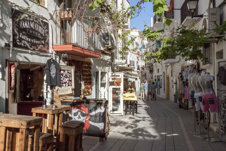 Ibiza Town is the biggest city of the island and its main hub  World