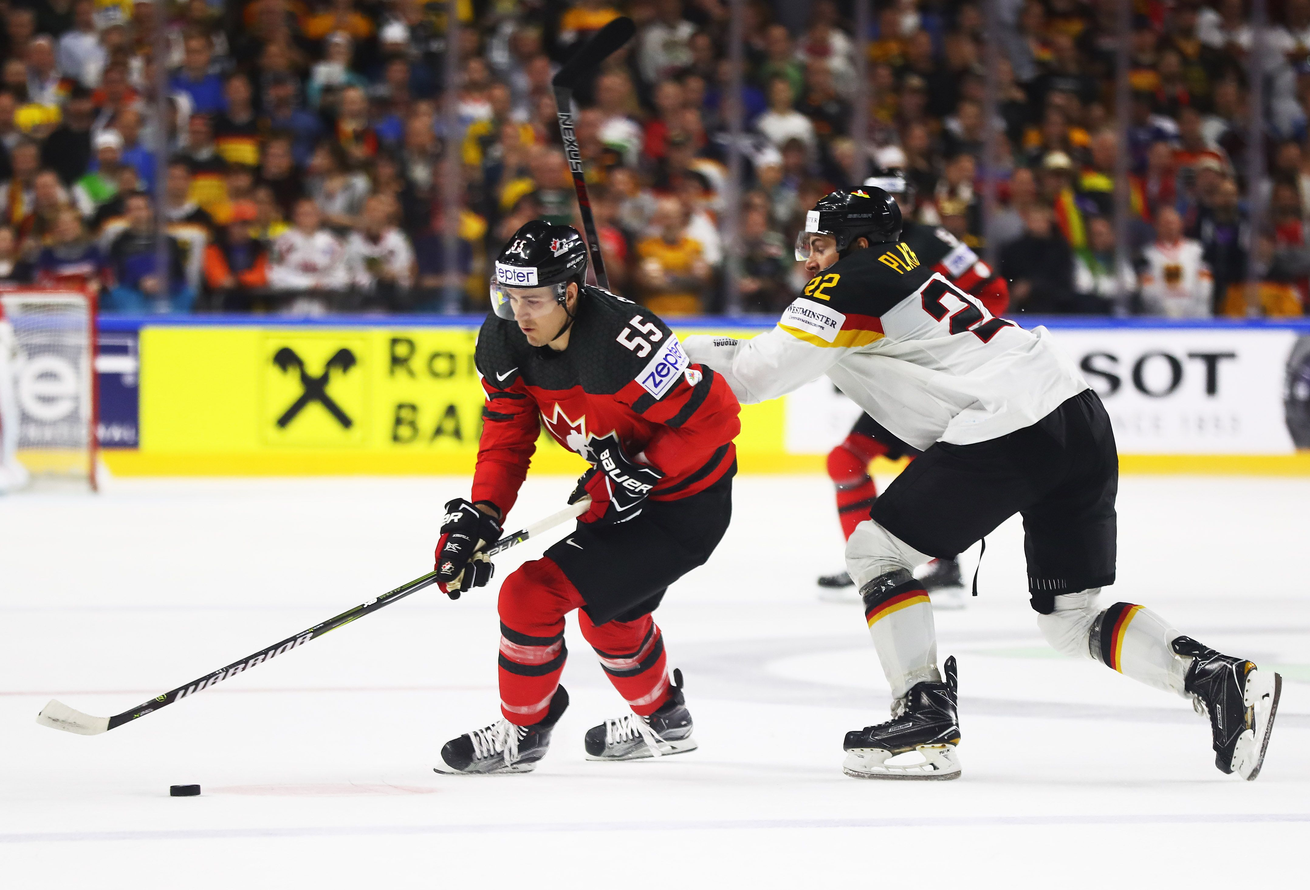 Mark Scheifele Scores Goal And Adds An Assist In Canada S 2 1 Quarterfinal Victory Over Germany At Iihf Men S World Championsh World Championship Germany Marks