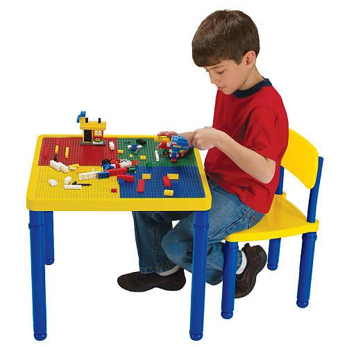 Block Builders Construction Table and Chair Set - Kids Only - Toys ...