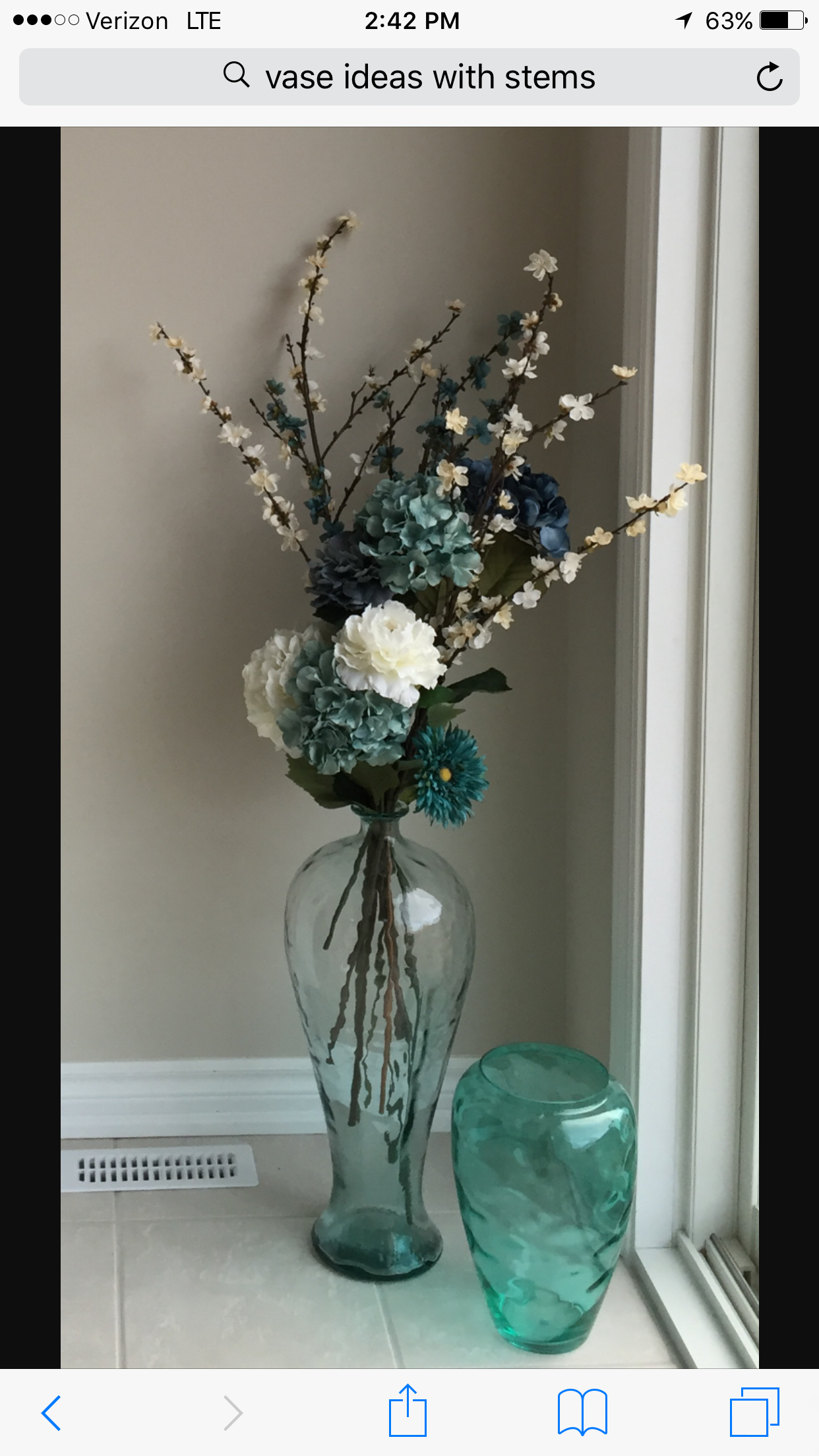 Pin By April Carr On Home Decor Floor Vase Decor Glass Vase Decor Glass Floor Vase