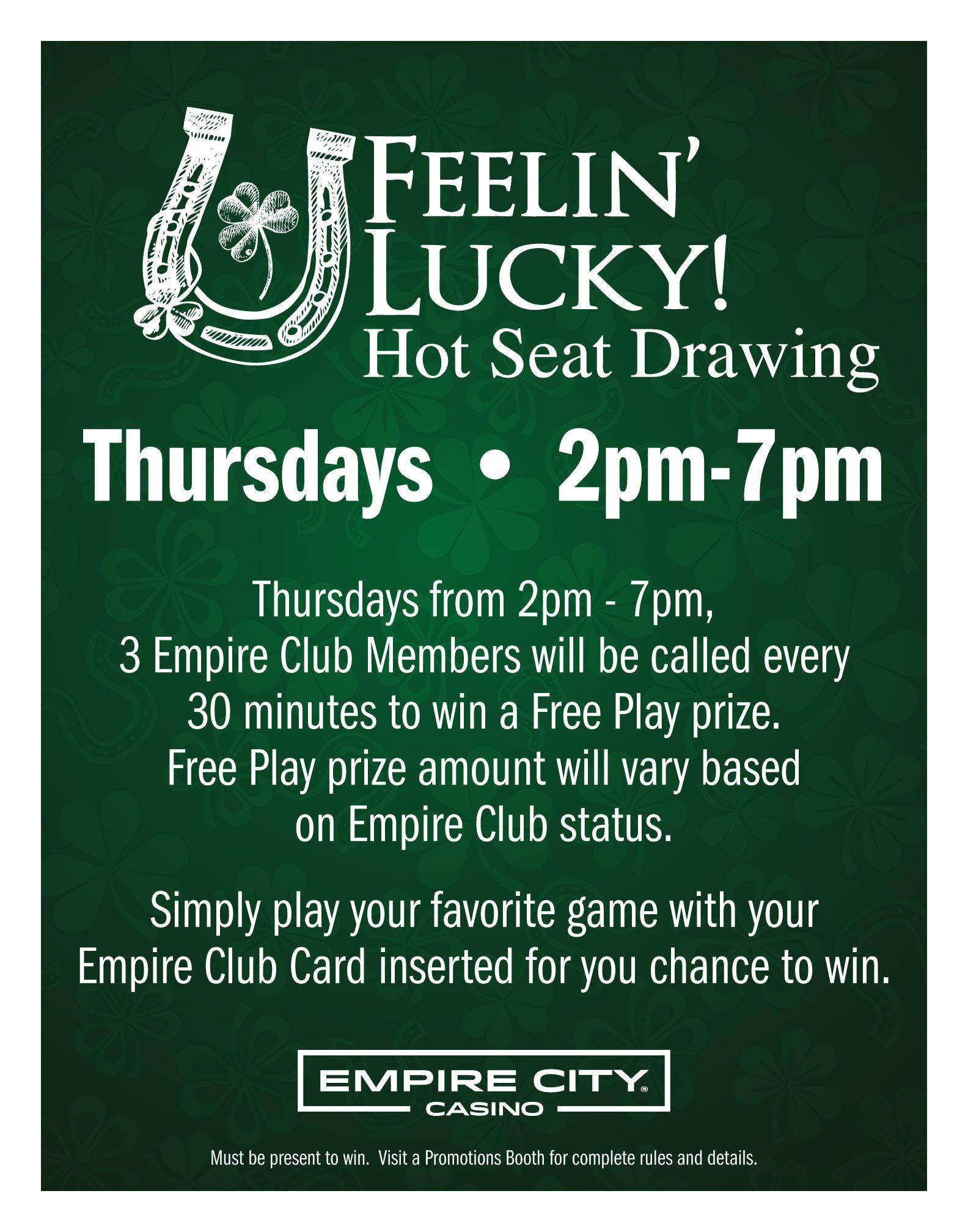 Empire Casino Promotions