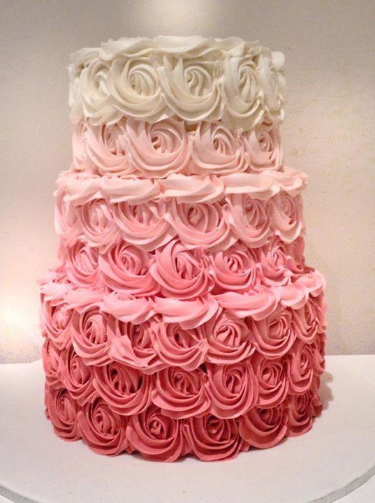 recipe: ombre rosette cake recipe [37]