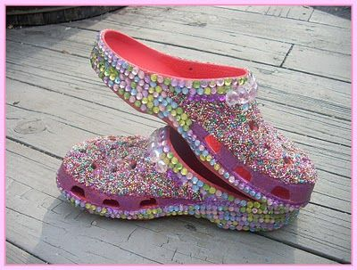 9a26119db56 Bedazzled Crocs.....so doing this with my blue ones!