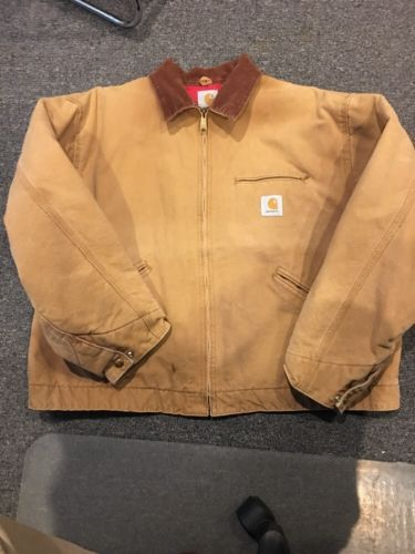 Carhartt Detroit Quilted Lined Jacket Brown 2XL 52 https://t.co/XY5XqsXvlI https://t.co/iglFwMoeHr