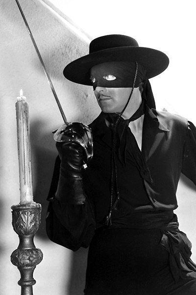 "Tyrone Power - ""The Mark of Zorro"" (1940) - Costume designer : Travis Banton"