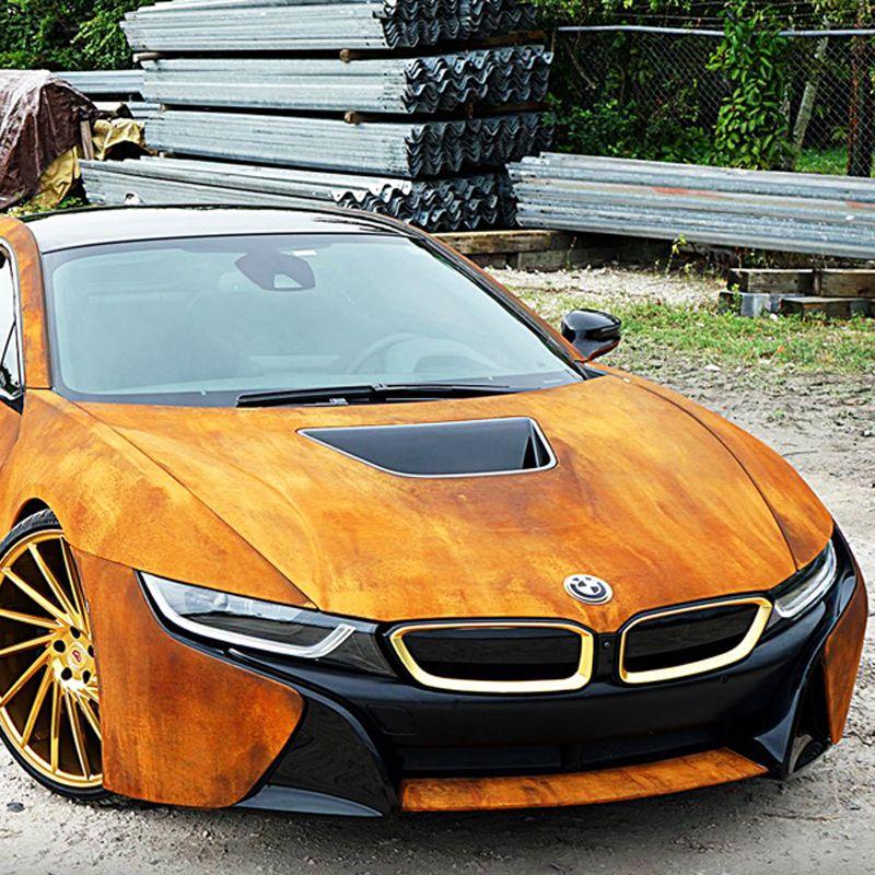 Custom Rusted BMW i8 in 2020 Bmw i8, Bmw, Custom cars paint