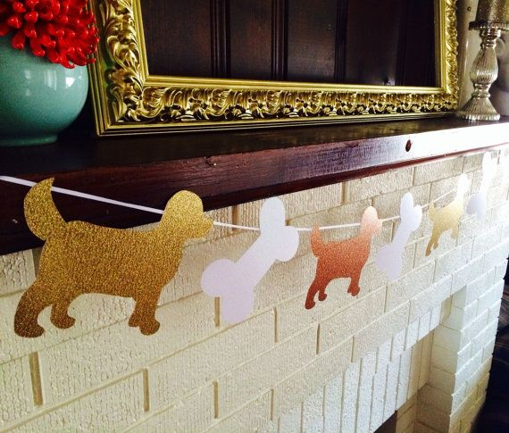 Doggie Banner by ChevronClubhouse on Etsy