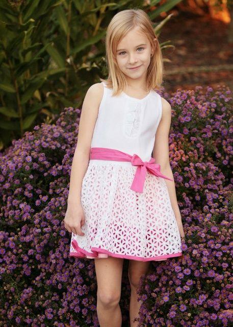 encaje | Dresses, Flower girl dresses, Kids fashion