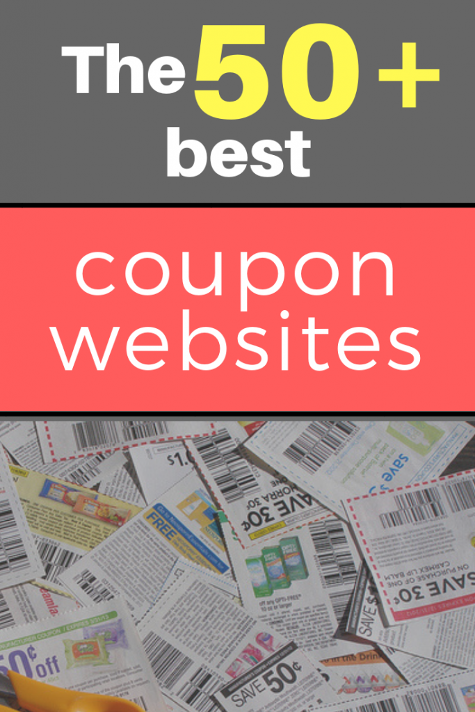 The Best 50 Coupon Sites Right Now Updated For 2020 In 2020 Best Coupon Sites Couponing For Beginners Free Coupons By Mail