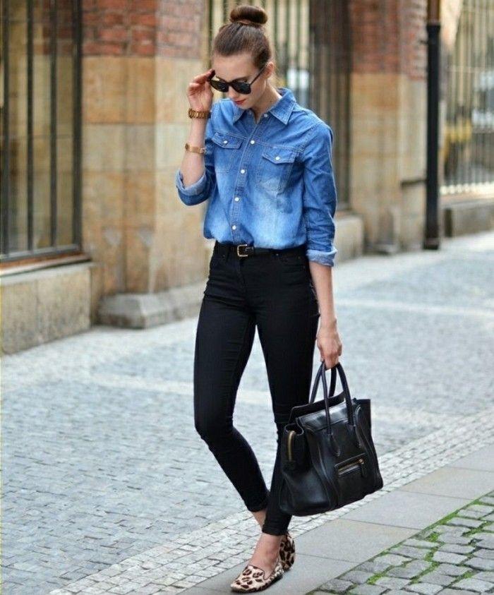 81d1f25a668 chemise en jeans femme
