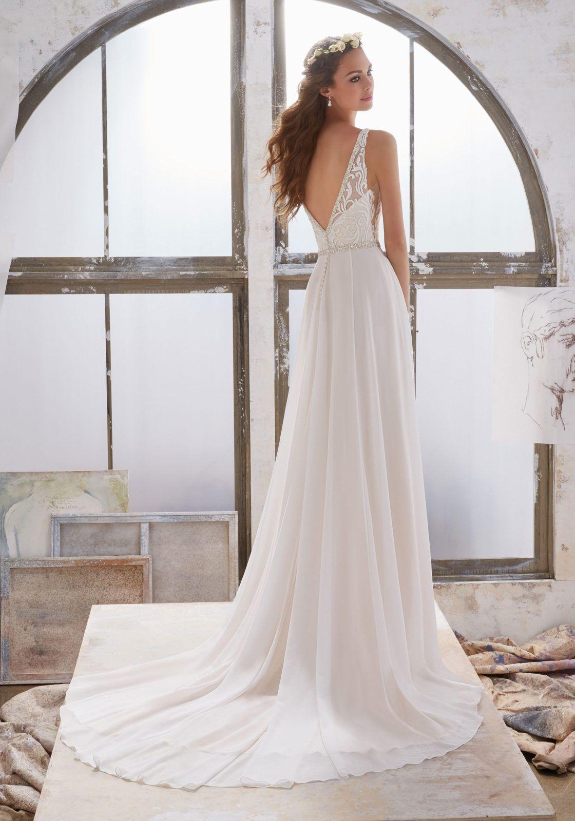 Sheath Wedding Dresses Madeline Gardner