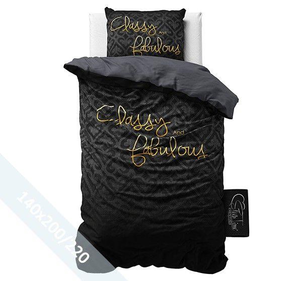 Sleeptime Dekbedovertrek - Classy & Fabulous - 140x220 cm