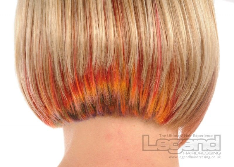 She Divides Her Hair Into 9 Strands Then Paints This On Top When S Done Wow