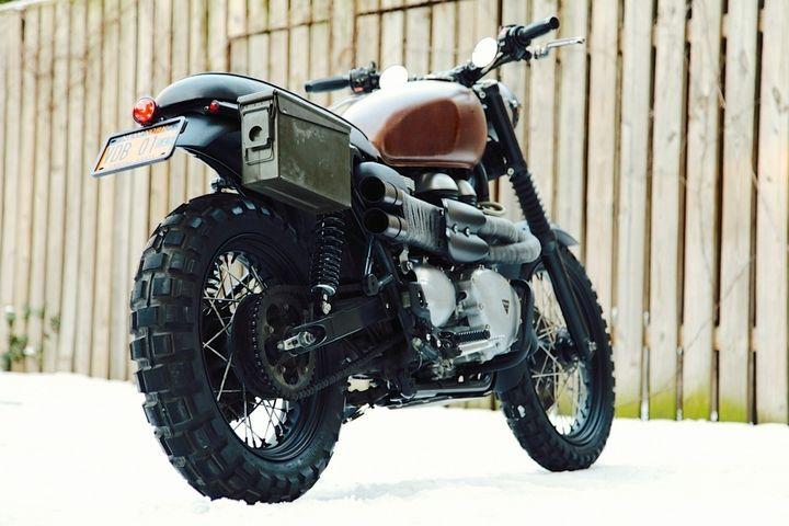 Triumph Scrambler Ammo Box Random Cool Shit Pinterest