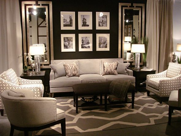15 Dramatic Dark Living Room Design Ideas Part 19