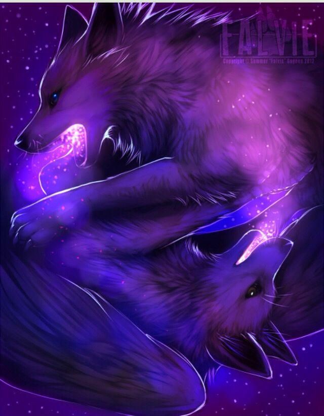 Winged Galaxy wolves (art by: Falvie) | wolves in 2019 ...