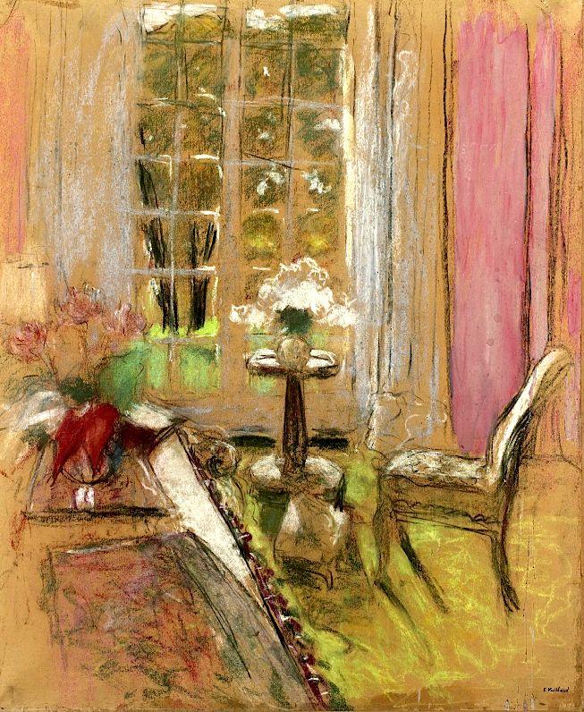 Edouard Vuillard (1868-1940) Le guéridon                                                                                                                                                                                 Más