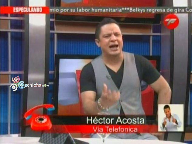 """Héctor Acosta """"El Torito"""" Habla De Su Caminata En Protesta A EDENORTE @ElTorito48 #Video"""
