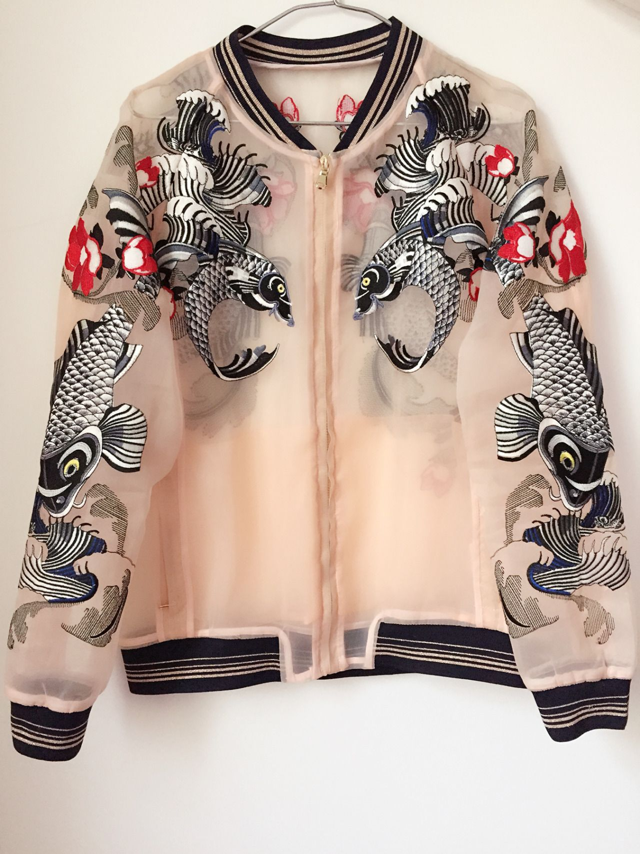 Wings Of Pegasus Roseglam Sheer Bomber Jacket Fashion Fashion Outfits Aesthetic Clothes [ 1707 x 1280 Pixel ]