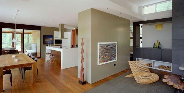 haus-renovieren-sorgfältig-planen-küche-wohnbereich-esszimmer, Moderne deko