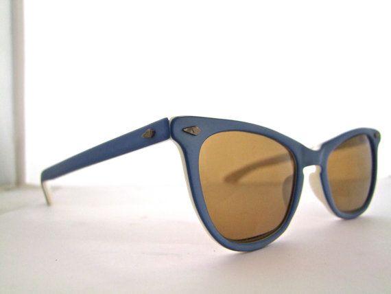 Amazing CATEYE Eyeglasses 1950s Beautiful Design by ifoundgallery, $85.00