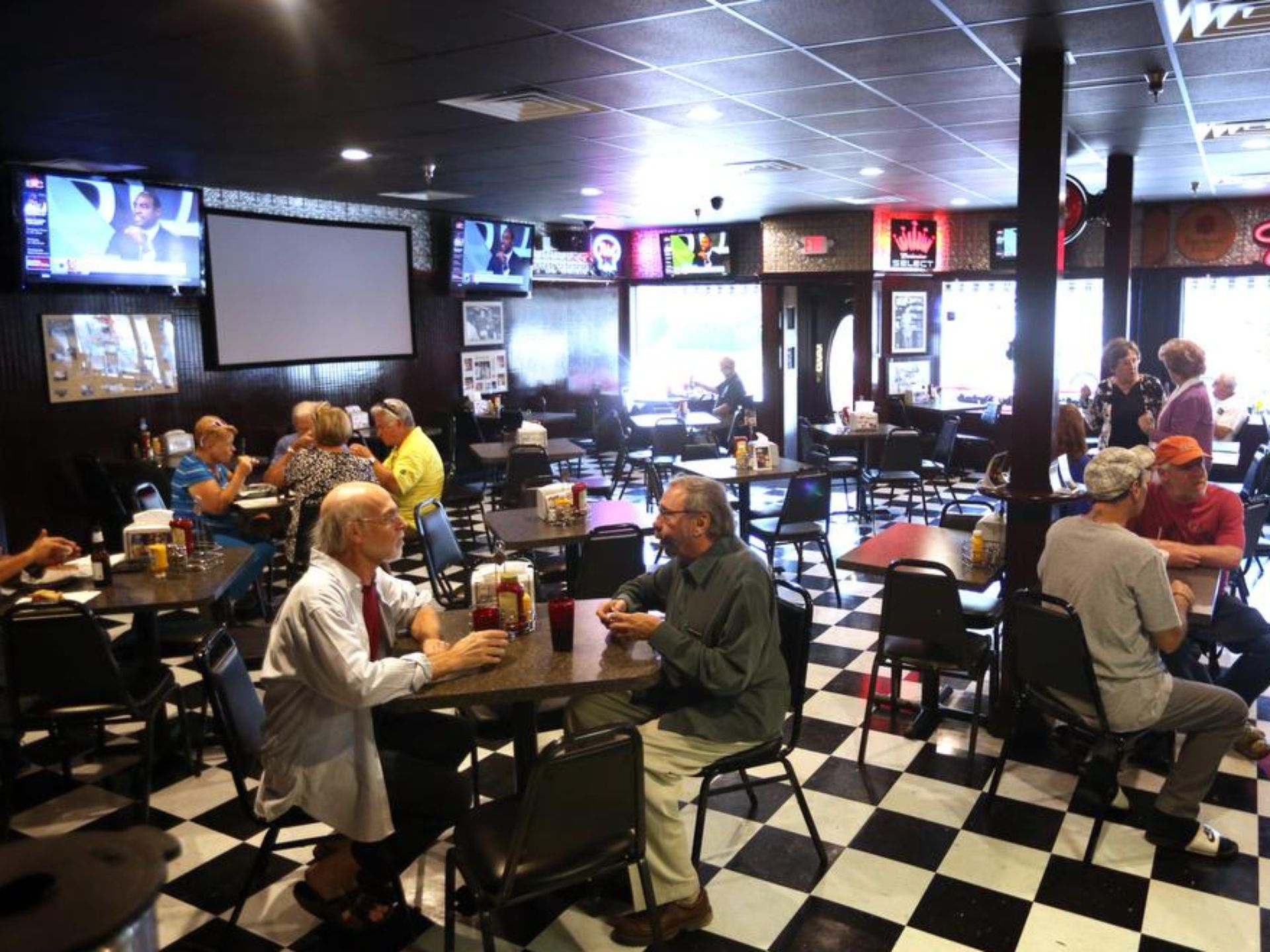 Gallery checks cafe is a neighborhood tradition the