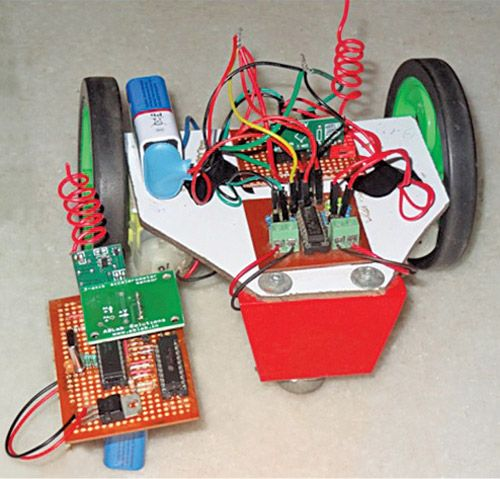 Wireless Gesture Controlled Robot Electronics For You