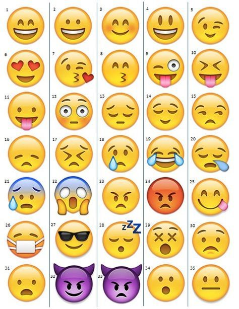 It is a graphic of Large Printable Emojis pertaining to transparent