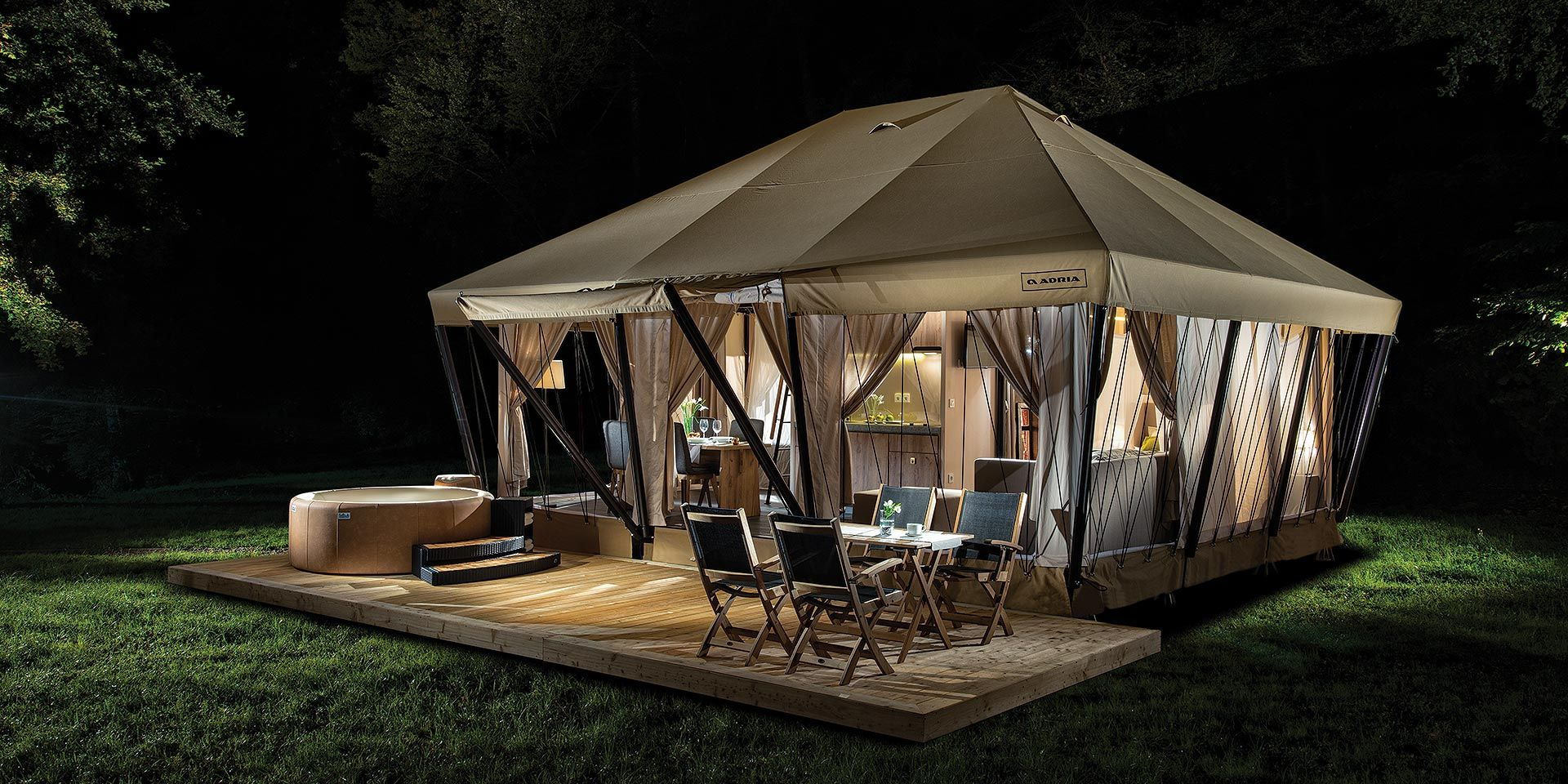 Experts in innovative projects in gl&ing tourism. Our projects Garden Village Bled Herbal gl&ing Ljubno Adria gl&ing tent were developed from the ... & GlamPro - Glamping projects and marketing | GLAMPING | Pinterest ...