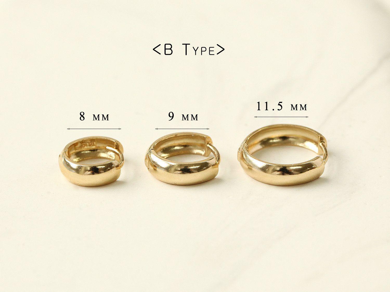 14k Gold Cartilage Hoop Earring Earring Cartilage Hoop Helix Etsy Cartilage Earrings Raw Crystal Stud Earrings Diamond Earrings Studs