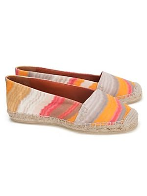 Make some waves : : Missoni Flat Espadrille: Coral Wave #INTERMIXPureWow