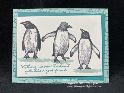 More Playful Penguins Stamp, Scrap & Create with Me