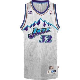 quality design 3fc64 aeac2 Utah Jazz Adidas NBA Karl Malone #32 Soul Swingman Jersey ...