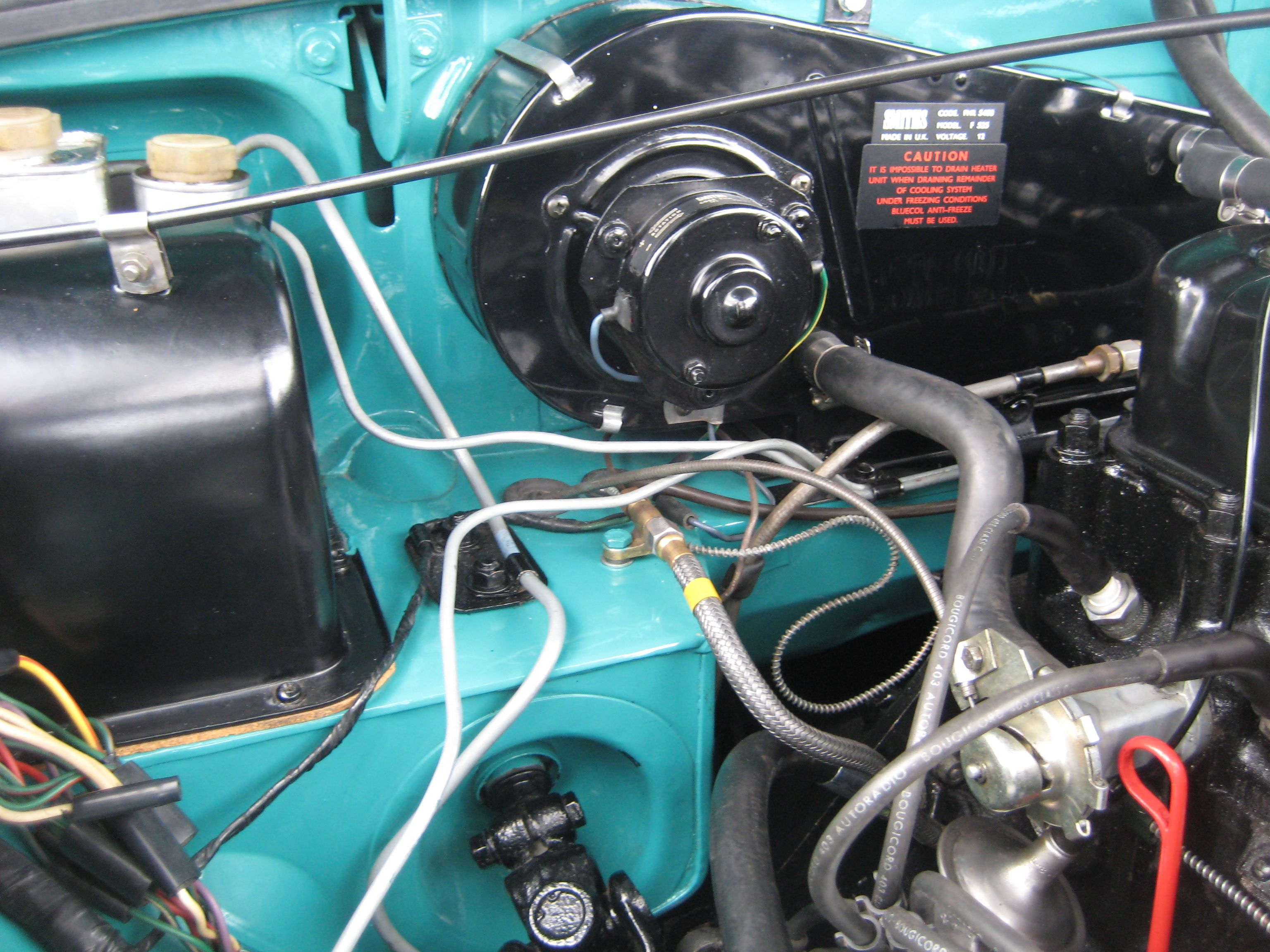 small resolution of mgb engine bay