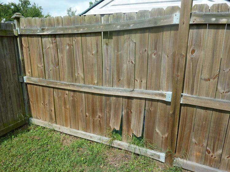 Why Is My Wood Fence Warping Twisting Moving Shrinking And Cracking K C Fence Company Nashville Fence Contractor Wood Fence Wood Fence Post Fence