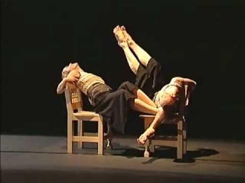 Louise Bédard et Sophie Corriveau / Elles > 1992 Crédits : Angelo Barsetti