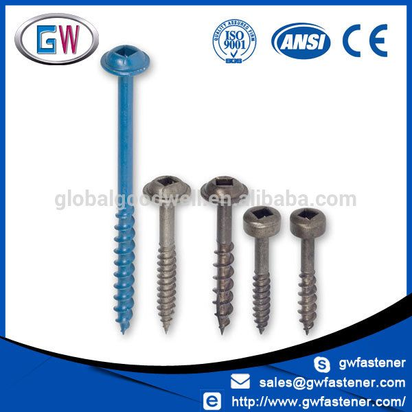 8 1 Inch 2 Inch 2 1 2 Inch Washer Head Pocket Hole Screws Pocket Hole Screws Pocket Hole Push Pin