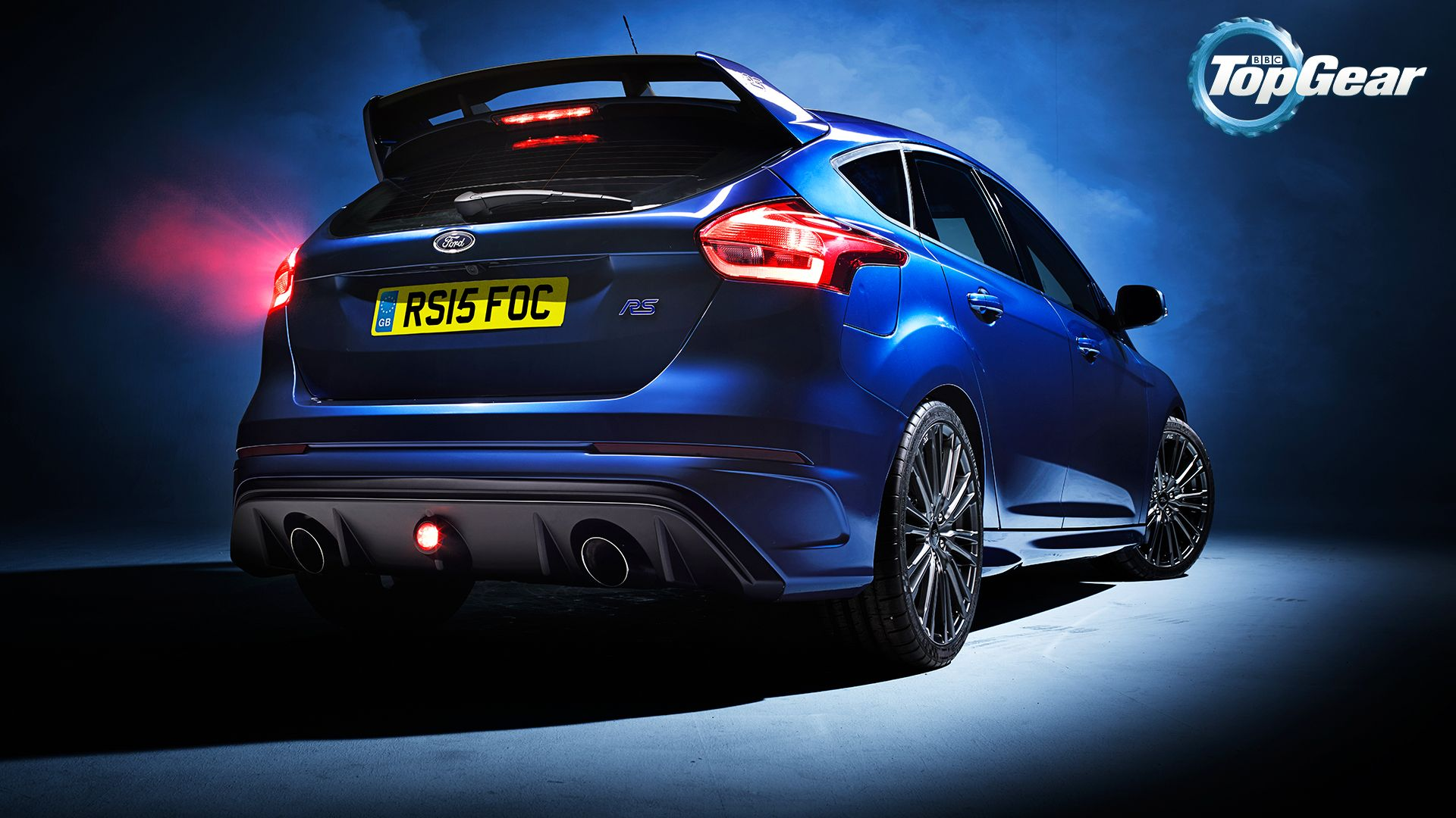 Ford Focus RS mk3 in Deep Impact Blue Ford Focus RS