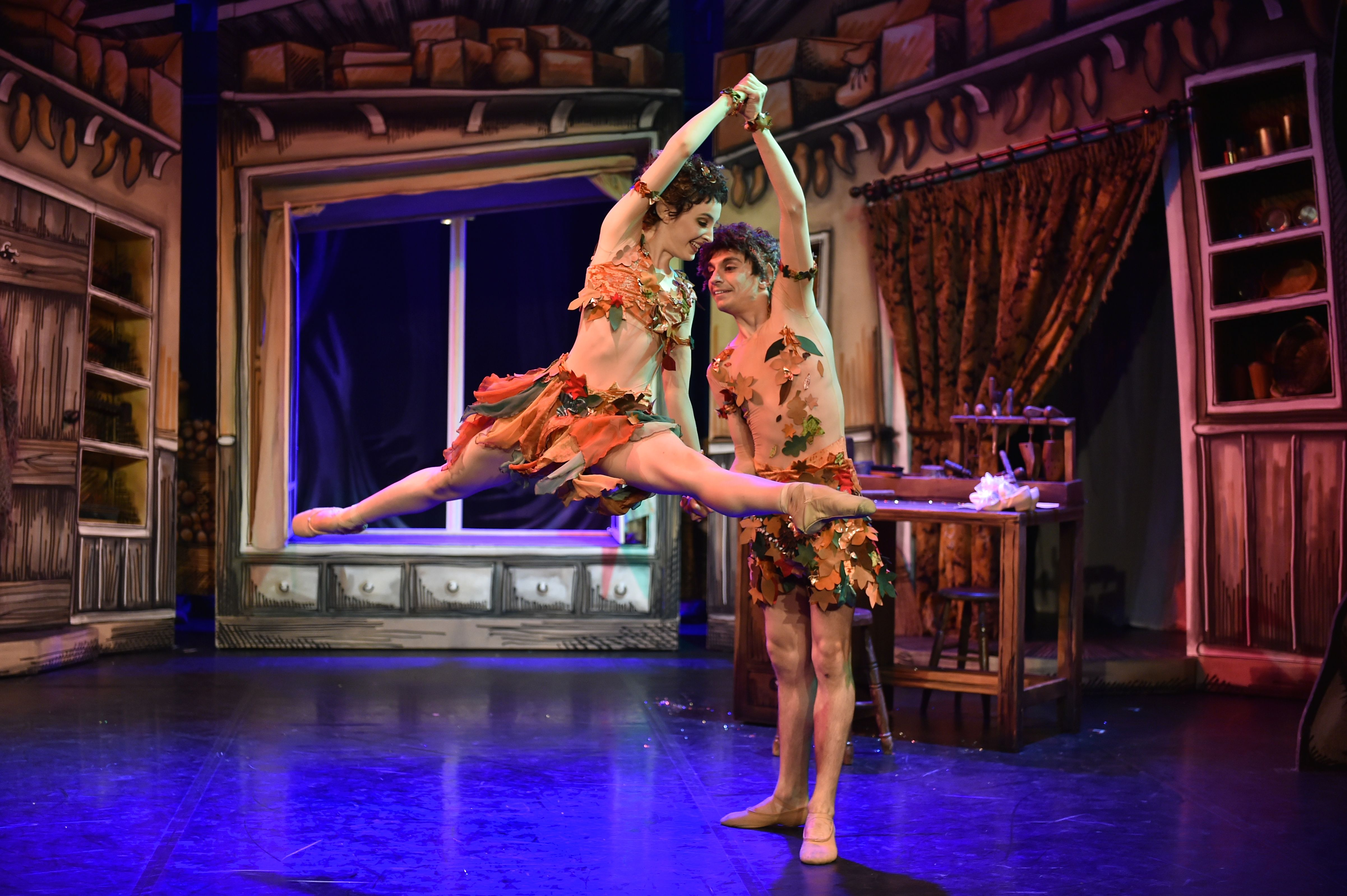 Elves And The Shoemaker At The Northern Ballet