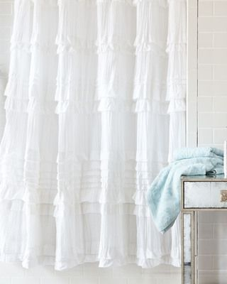 Why is it that the shower curtain I like is $240.00?  It's shabby...it's chic...it's white.