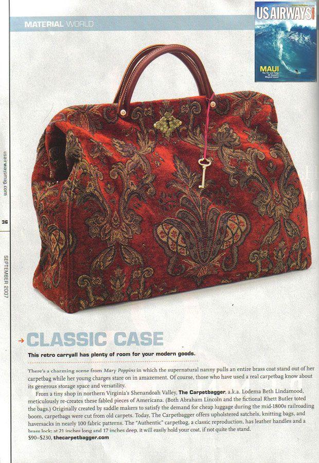 c3024e2675 Free Carpet Bag Sewing Pattern - Carpet Vidalondon | Bags & Purses 2 ...