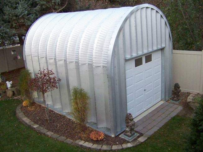 S Model Quonset Hut For Garage Storage Also A Water
