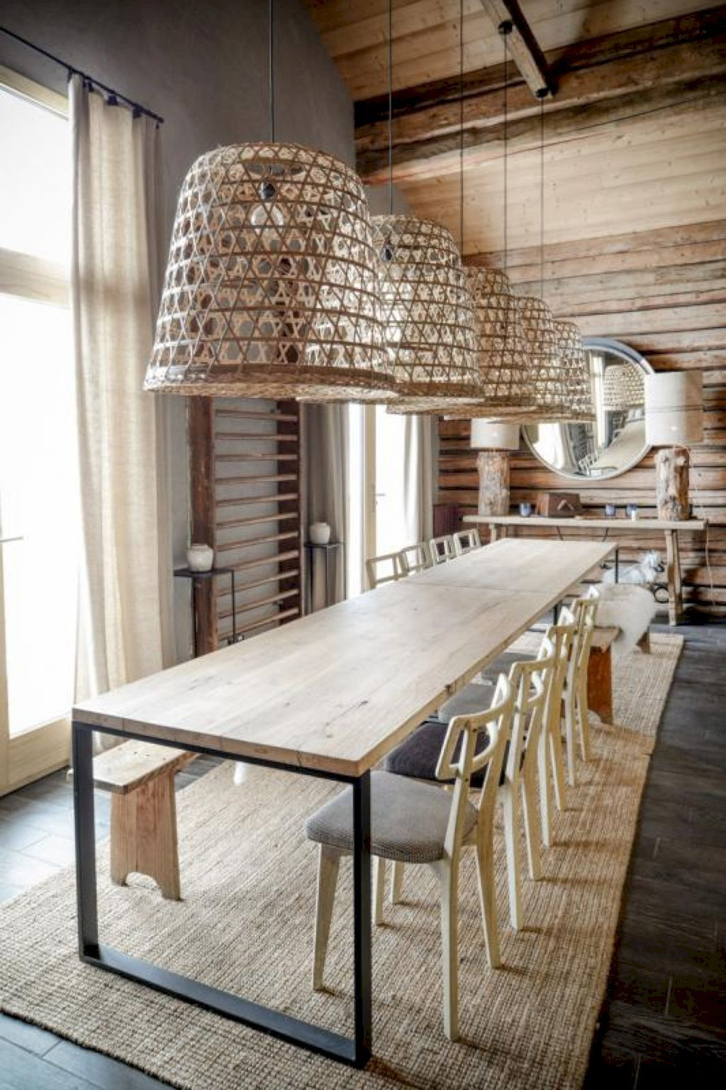 74 Gorgeous Scandinavian Dining Room Design Ideas  Dining Room Cool Scandinavian Dining Room Inspiration