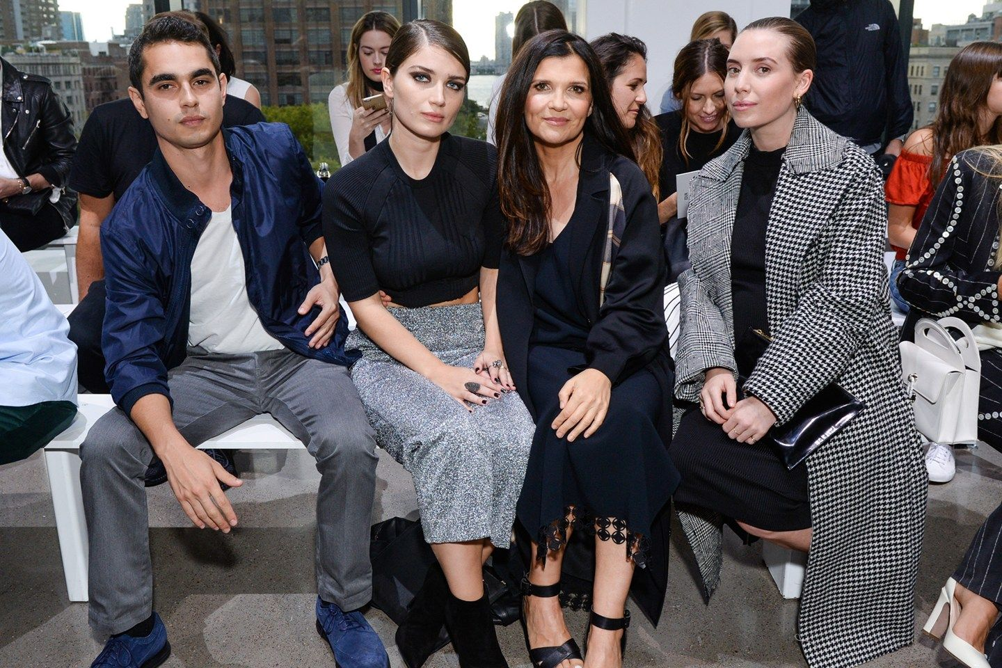 Fashion Week Front Rows And Parties
