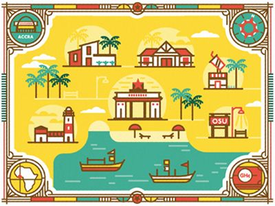 Accra by MUTI via dribbble