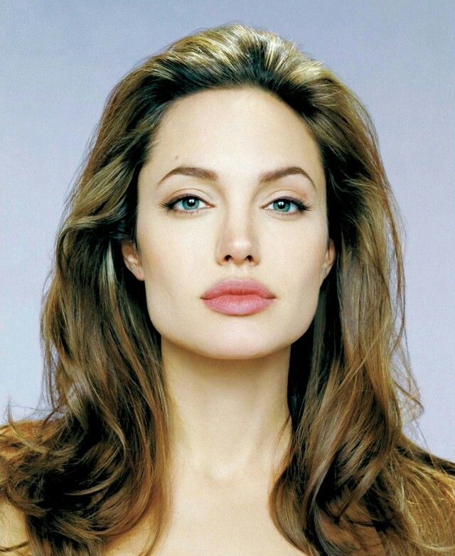 Pretty Square Faces: Pin By Hott Dawg On Angelina Jolie ♡