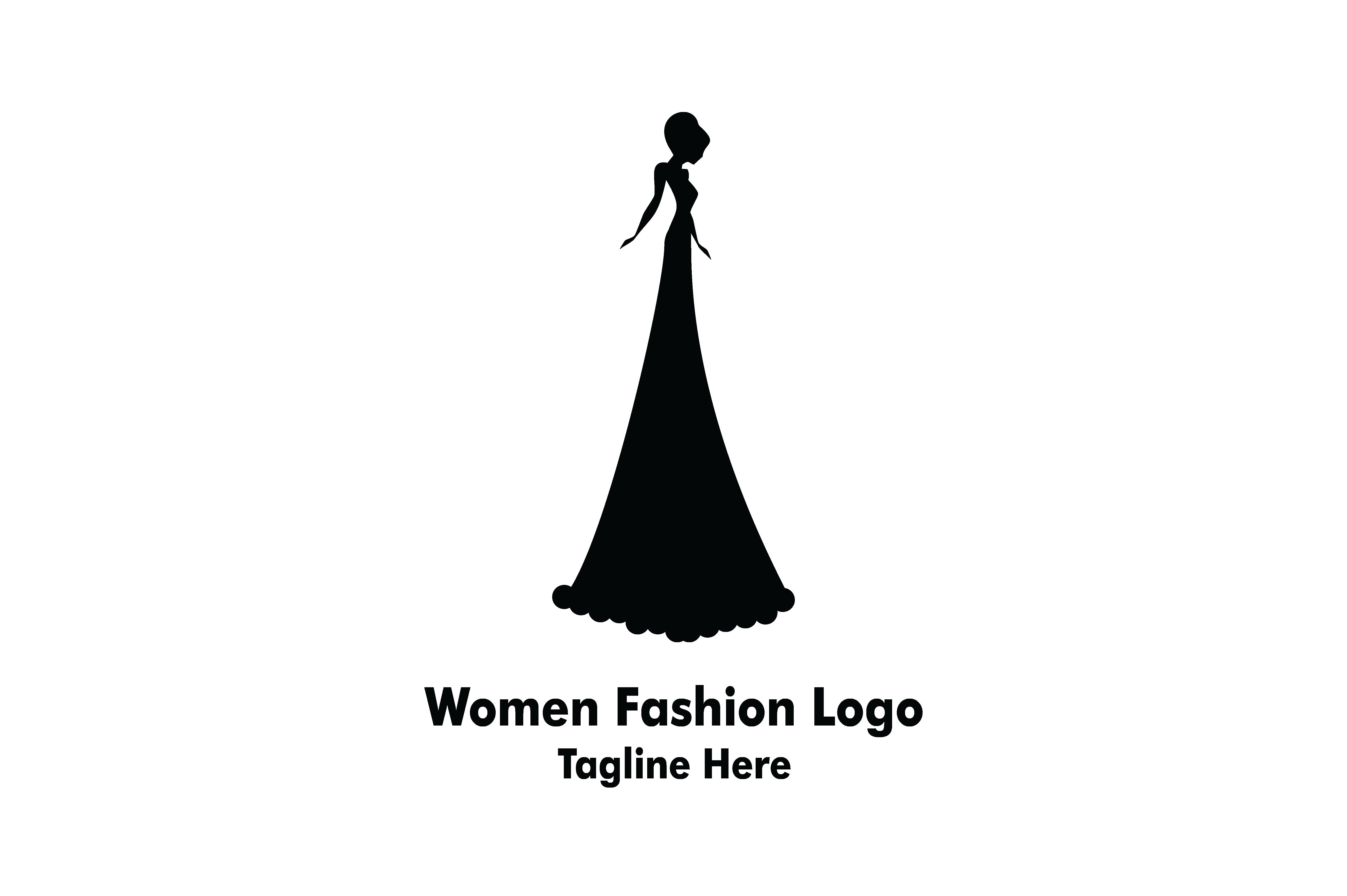 women beauty fashion logo  graphic  by yuhana purwanti