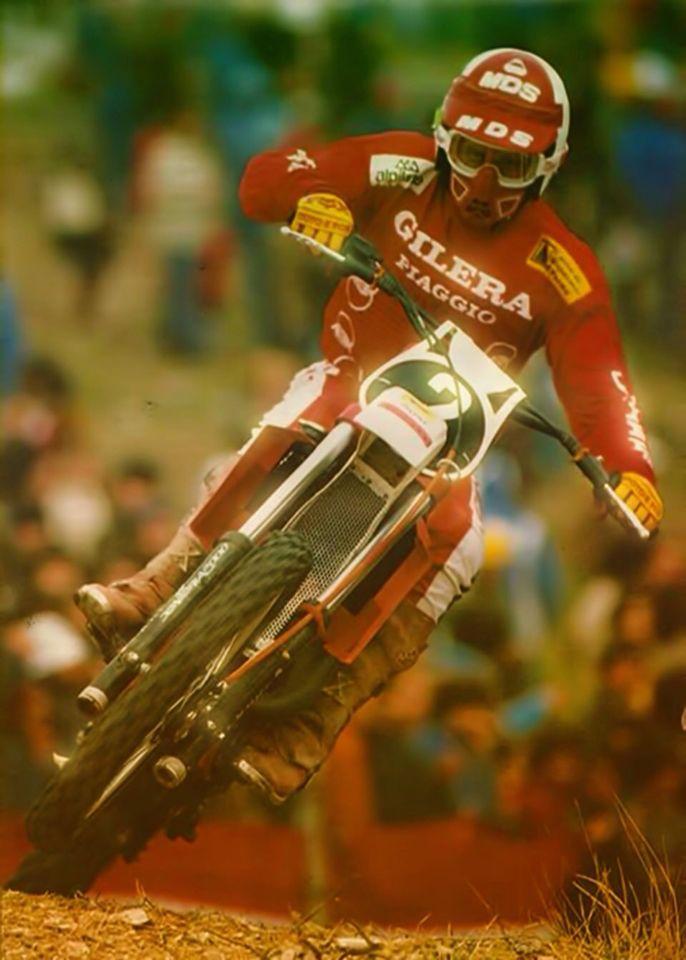 Michele Rinaldi # 2 # 80's motocross